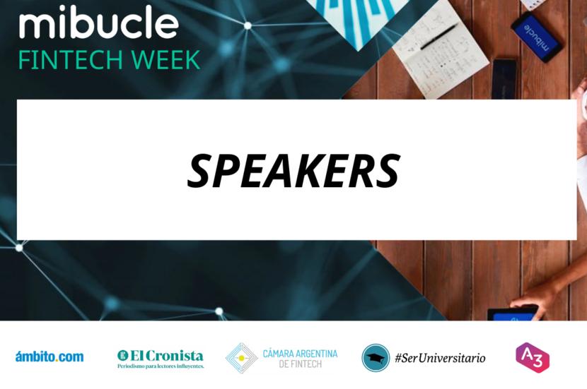 Conocé la agenda de charlas de la #FintechWeek - Mibucle
