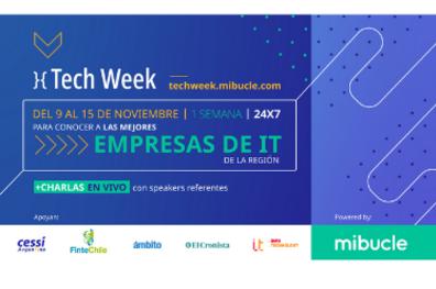 Se viene la Tech Week 2020 - Mibucle