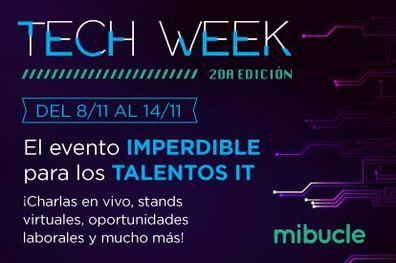 En Noviembre llega la Tech Week 2021 - Mibucle