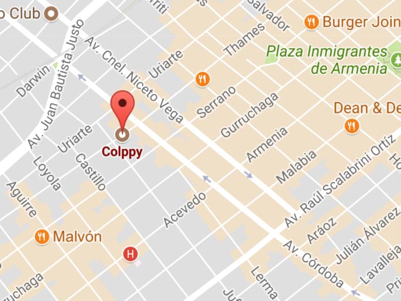 Ubicación Colppy