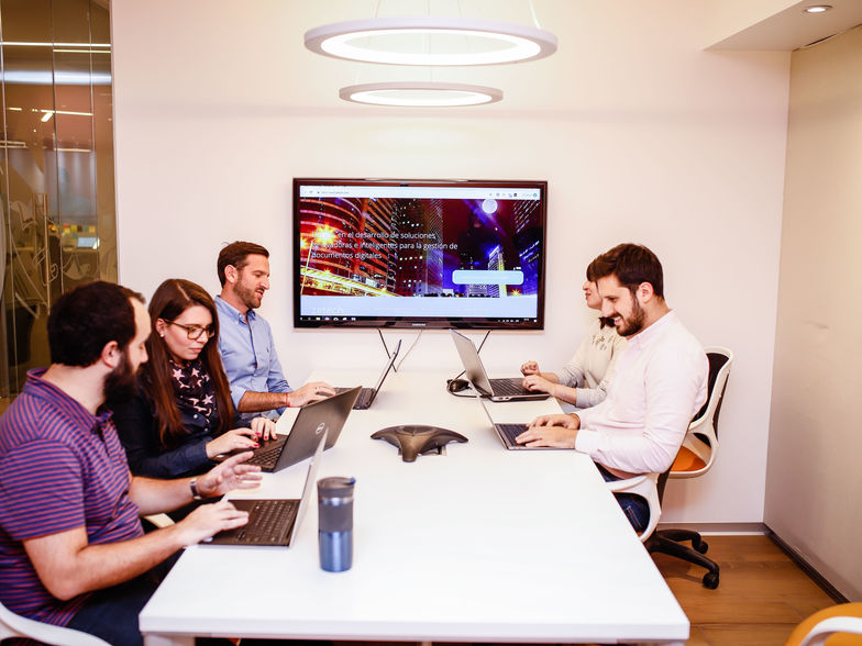 Zetech - Reunión de trabajo