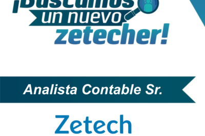 Analista Contable Sr. - Zetech