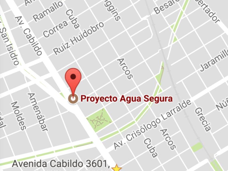 Ubicación Proyecto Agua Segura