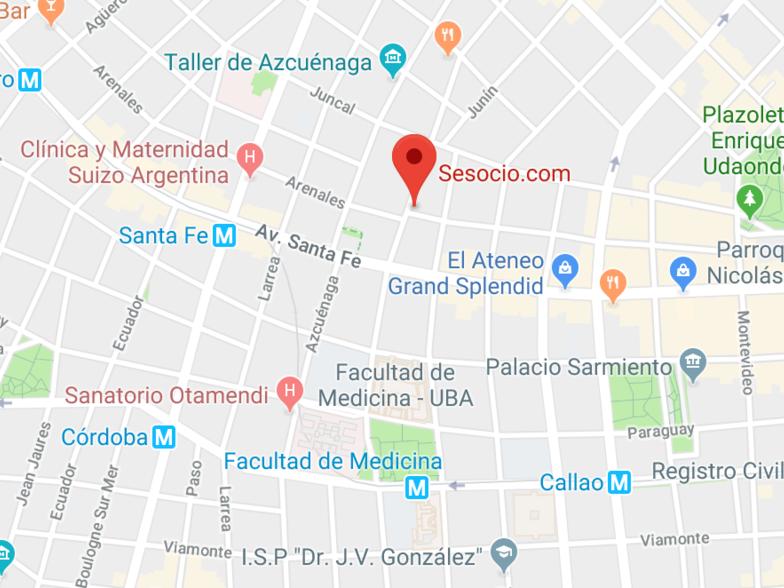 Ubicación Argentina