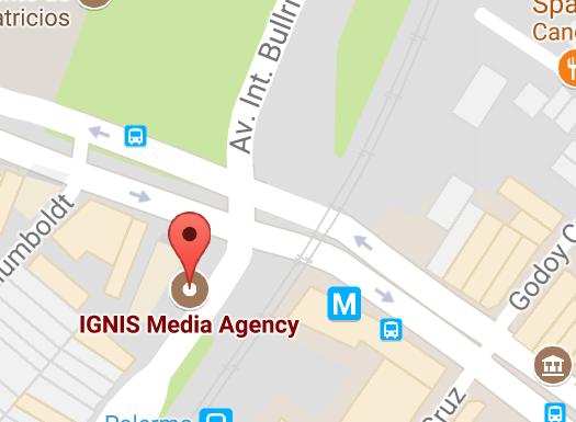 Ubicación Ignis Media Agency