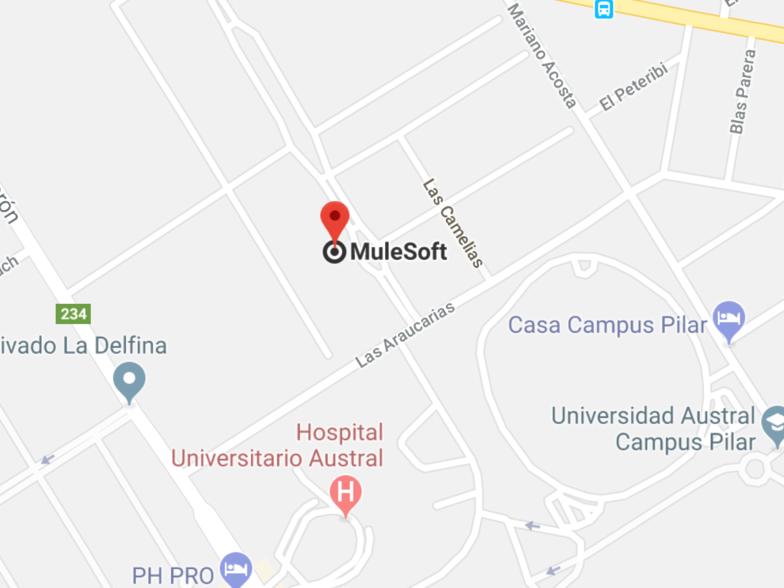 Ubicación Pilar, Argentina