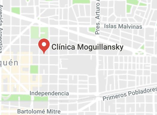 Ubicación Clinica Moguillansky