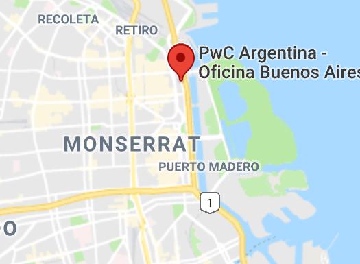 Ubicación PwC Argentina
