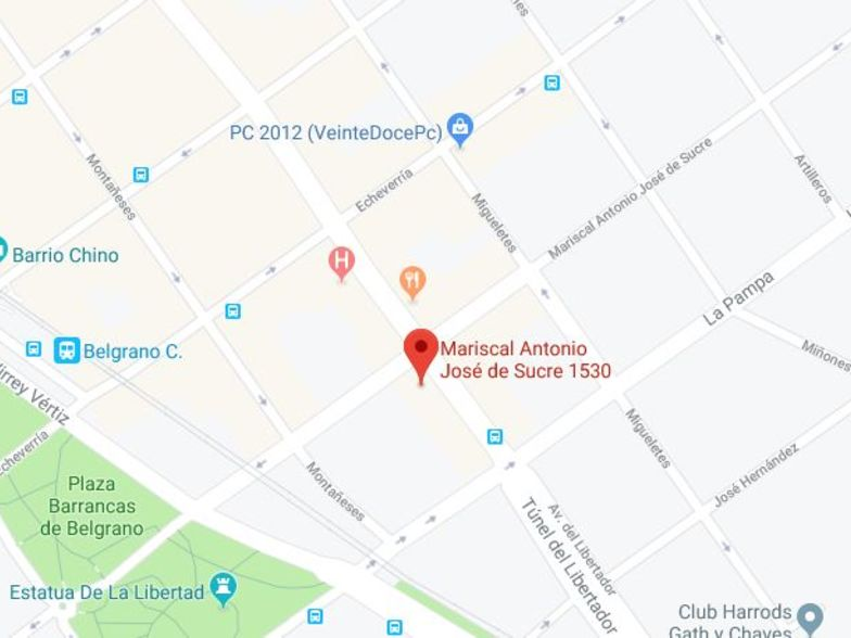 Ubicación PedidosYa Argentina