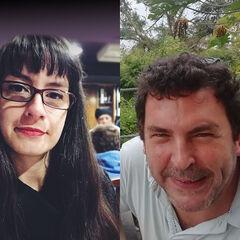 Natalia Palau y Diego Chulak